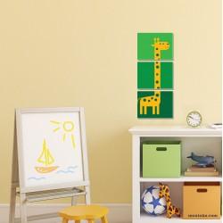 Пано за детска стая с картинка жираф